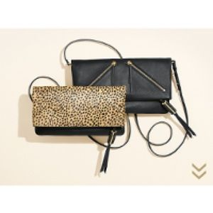Leopard leather cover waverly